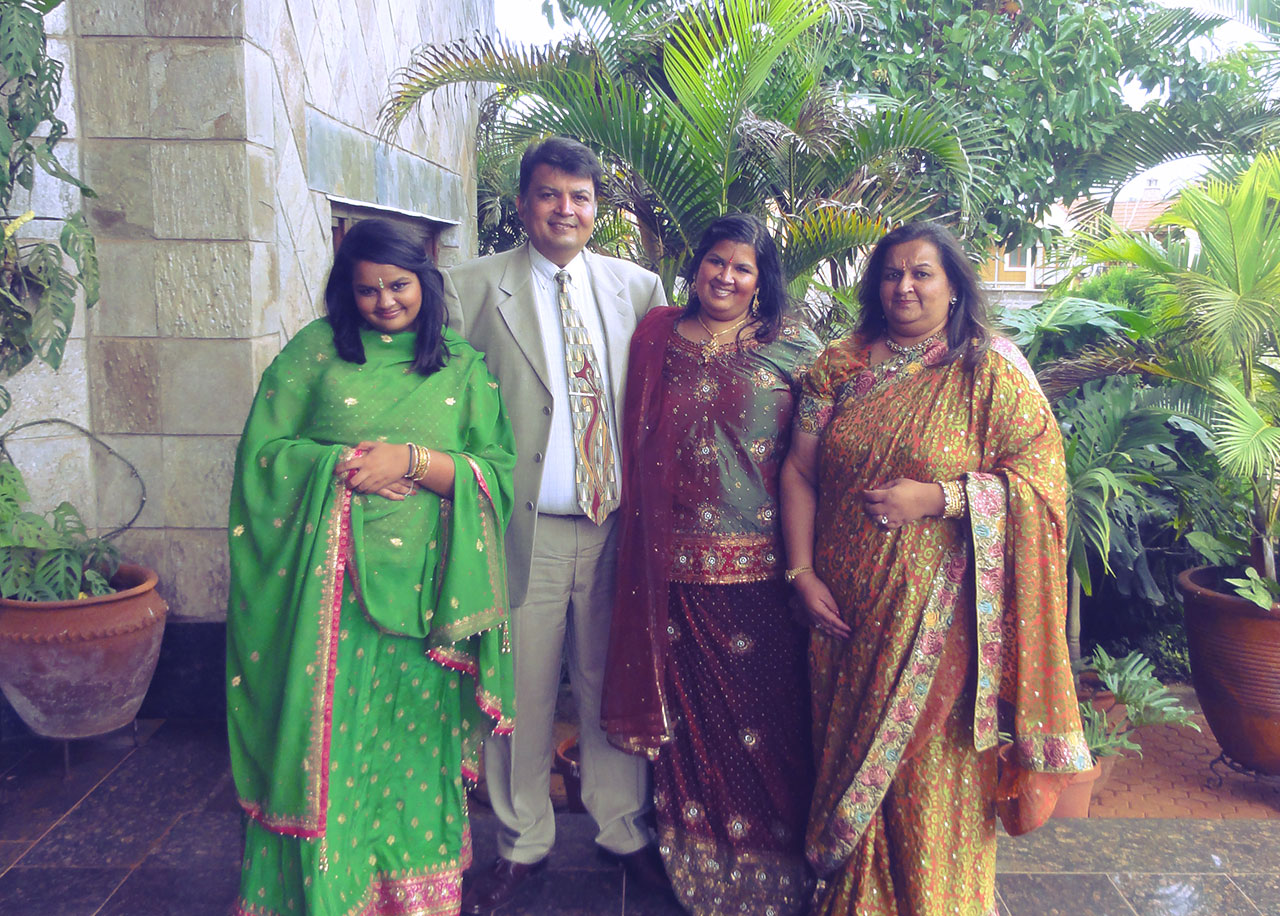 Aashni Shah family photo