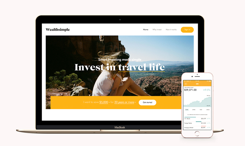 Wealthsimple multi-platform design