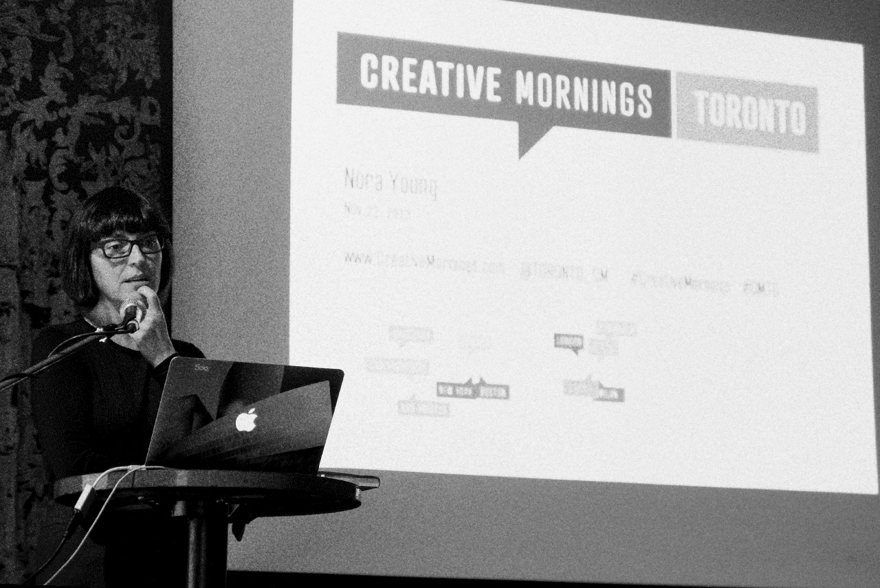 Nora Young Creative Mornings